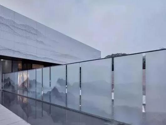 定制山水 风景画人物玻璃