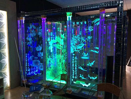 激光内雕玻璃