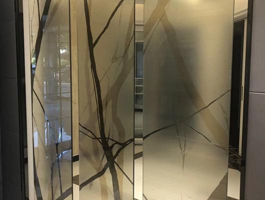 多工艺高端夹丝玻璃